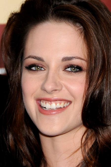 знаменитости с неидеальной улыбкой - кристен стюарт