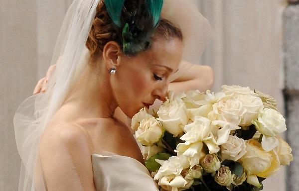 керри бредшоу, свадебное платье