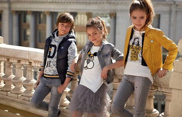 модная одежда дл детей и подростков