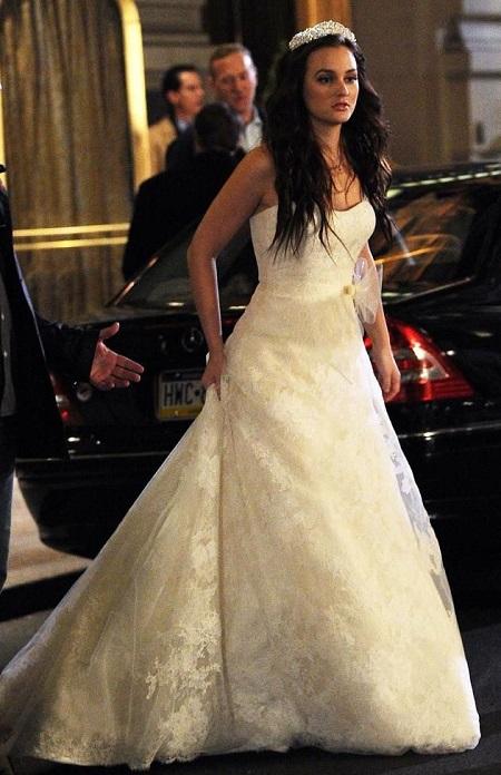 свадебное платье из сериала сплетница