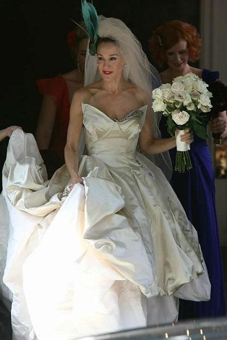 свадебное платье - керри бредшоу