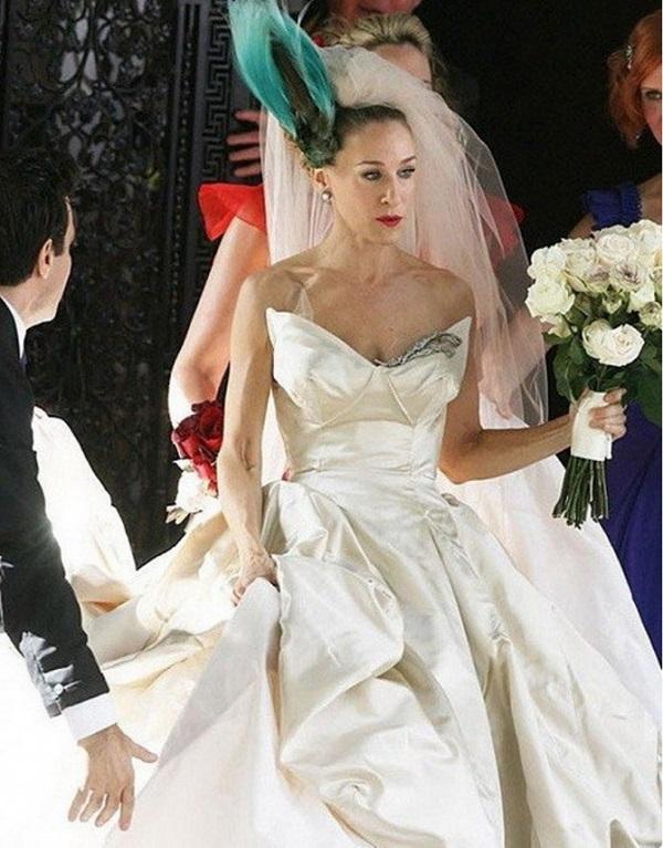 свадебное платье керри бредшоу