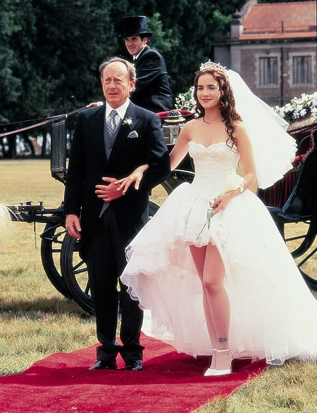 свадебное платье милагрос из сериала дикий ангел