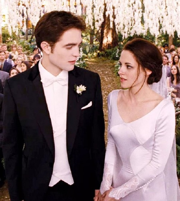 свадебное платье, свадьба беллы и эдварда, сумерки