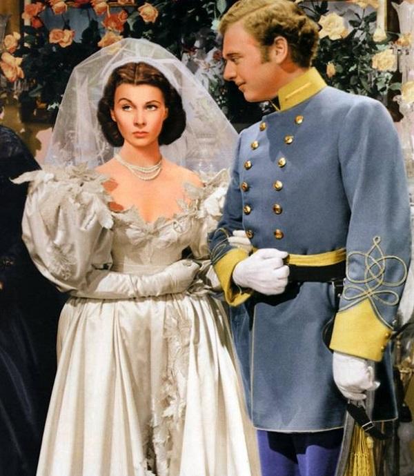свадебное платье скарлетт из фильма унесенные ветром