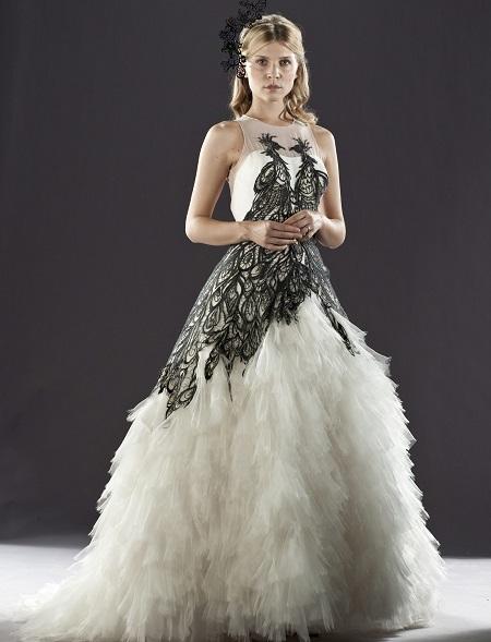 свадебное платье флер делакур