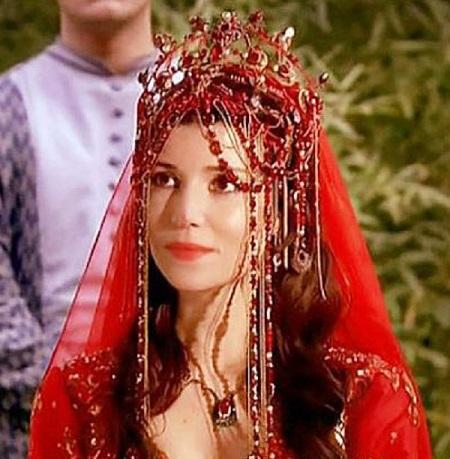свадебное платье хатидже султан, сериал великолепный век