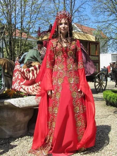 свадебное платье хатидже султан