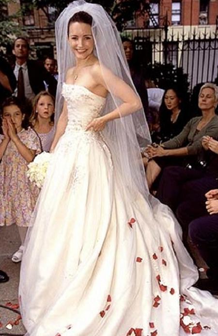 свадебное платье - шарлотта, сериал секс в большом городе
