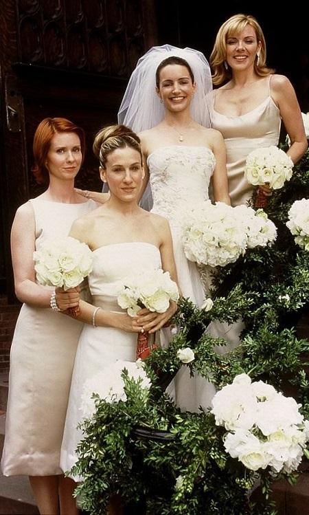 свадебное платье шарлотты из сериала секс в большом городе