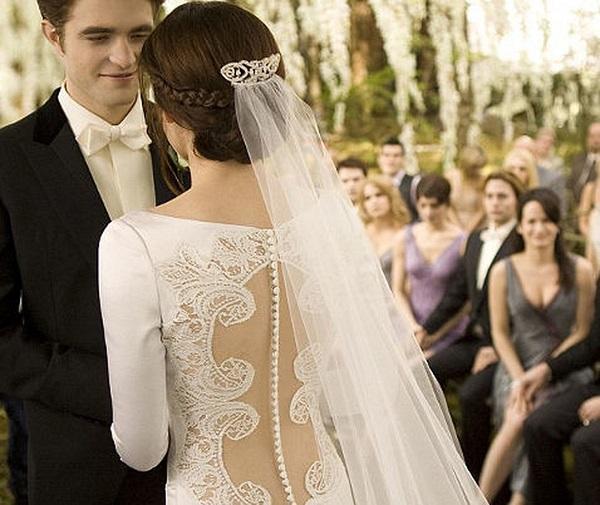 свадьба беллы и эдварда, сумерки