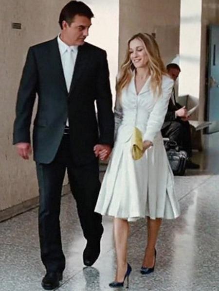 свадьба керри и бига