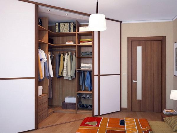 гардеробная в прихожей квратиры, дизайн
