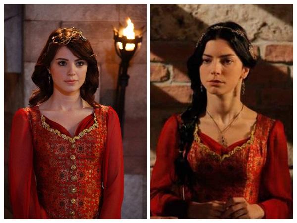 одинаковое платье у айбиге и нурбану
