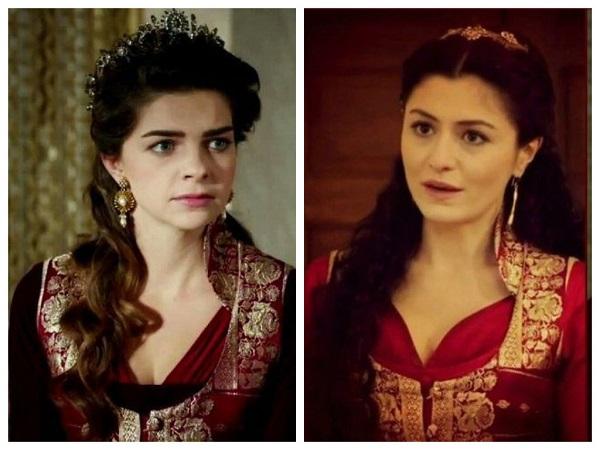 одинаковое платье у михримах и шах султан, великолепный век