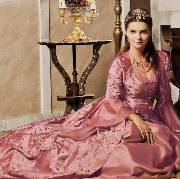 платья михримах султан, великолепный век