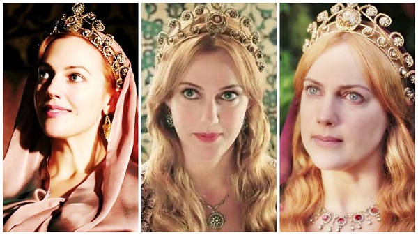 платья, наряды, украшения, драгоценности сериала великолепный век - золотая корона хюррем(35)