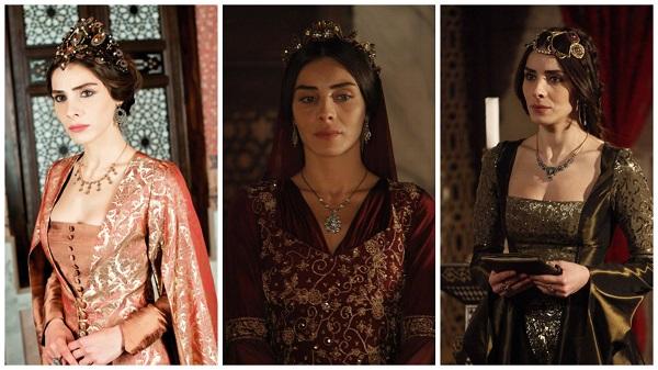 платья, наряды, украшения, драгоценности сериала великолепный век - махидевран (15)