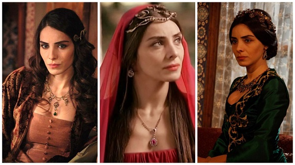 платья, наряды, украшения, драгоценности сериала великолепный век - махидевран(1)