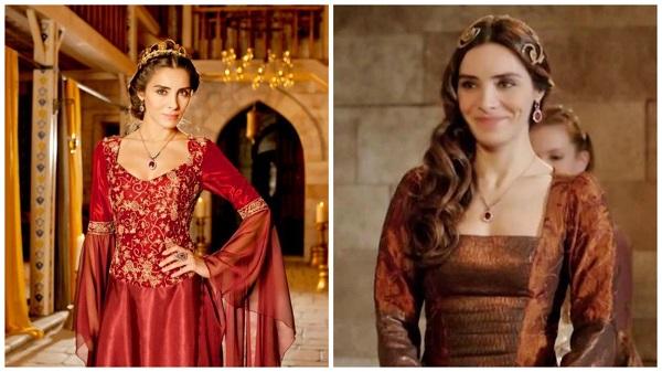 платья, наряды, украшения, драгоценности сериала великолепный век - махидевран(3)