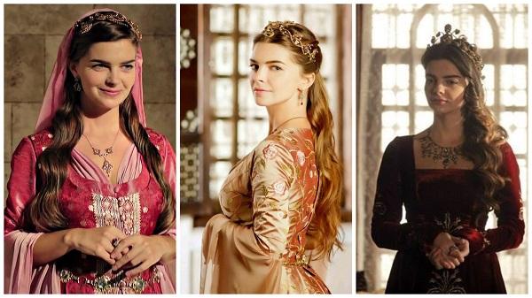 платья, наряды, украшения, драгоценности сериала великолепный век - михримах(4)