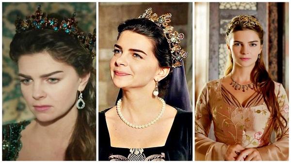платья, наряды, украшения, драгоценности сериала великолепный век - михримах(6)