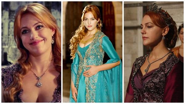 платья, наряды, украшения, драгоценности сериала великолепный век - хюррем султан(8)