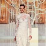 Красивые кружевные свадебные платья (15 фото)