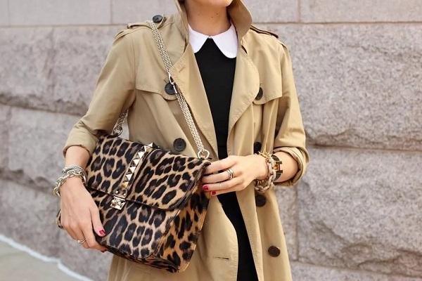 леопардовая сумка - аксессуар мода весны 2019
