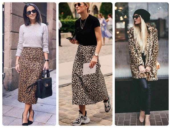 леопардовый принт - женская мода весна 2019