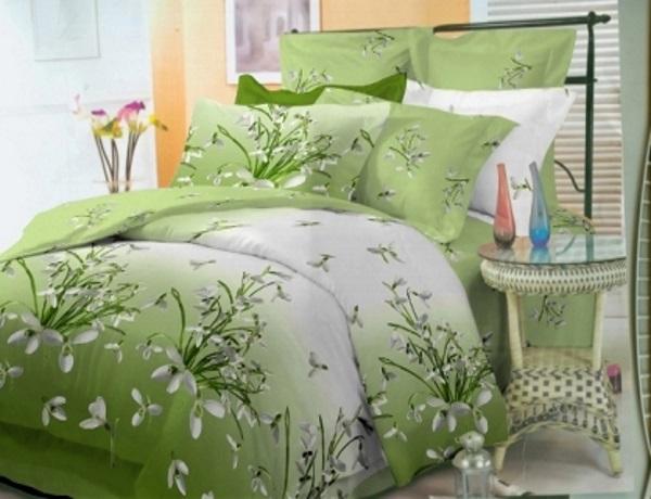 оттенки и цвета постельного белья