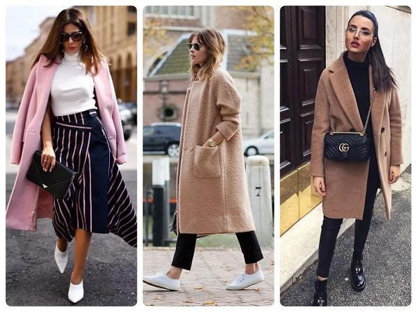 пальтопрямого кроя - женская мода весна 2019