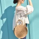 Соломенная сумка — модные образы лета