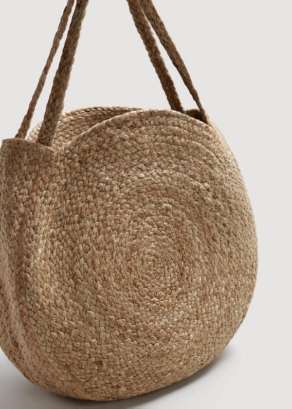 сумка из джута