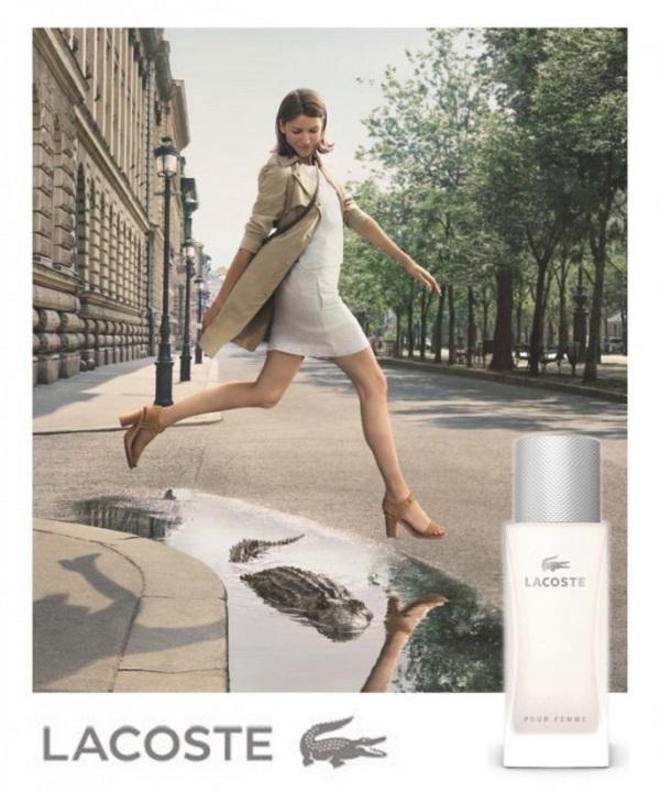 Lacoste - Pour Femme Legere - женская парфюмерная вода на лето, обзор