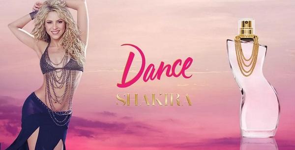 Shakira - Dance - женская парфюмерная вода на лето, обзор