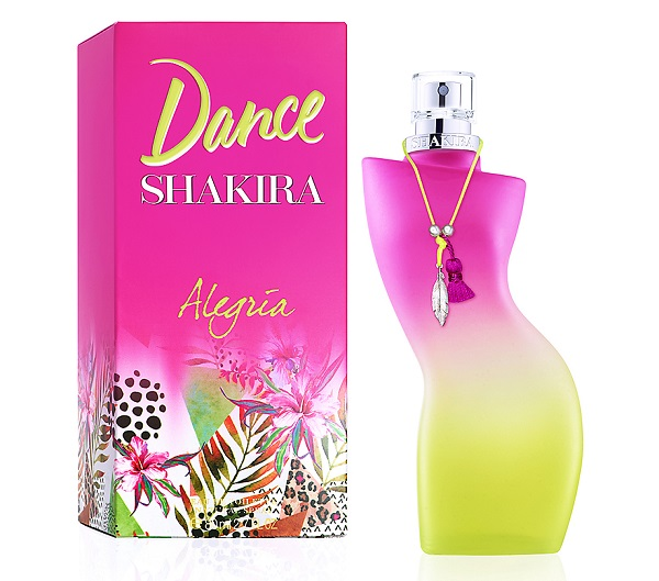Shakira -Dance Alegria - женская парфюмерная вода на лето, обзор