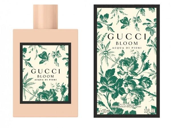 gucci bloom aqua di fiori - женская парфюмерная вода на лето, обзор