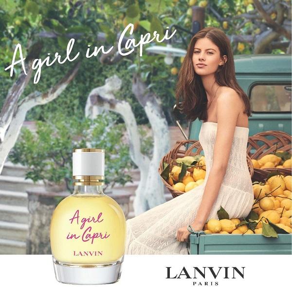 lanvin a girl in a capri - женская парфюмерная вода на лето, обзор