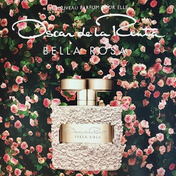 oscar de la renta - bella rosa - женская парфюмерная вода на лето, обзор
