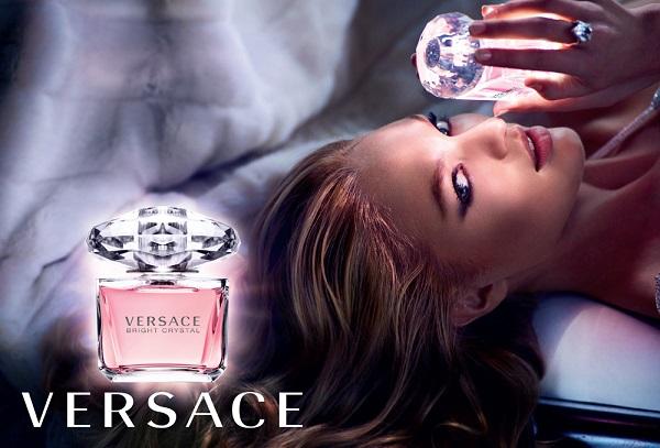 vercace - bright crystal - женская парфюмерная вода на лето, обзор