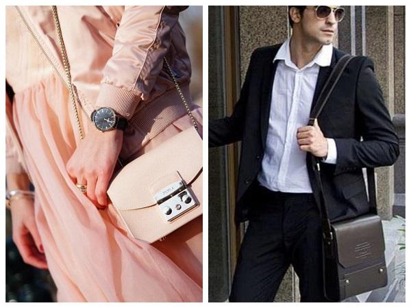 как выбрать мужские и женские сумки