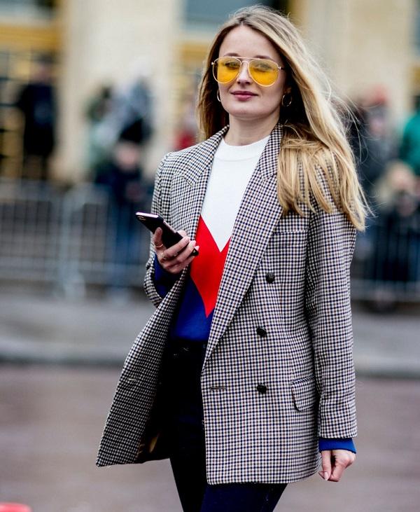 как выбрать модный пиджак на осень