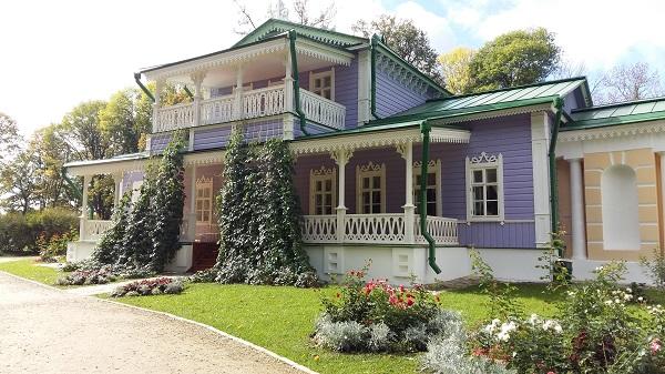 дом в усадьбе Тургенева Спасское Лутовиново