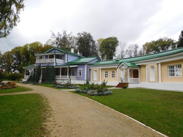 центральный дом музей в усадьбе писателя Тургенева Спасское Лутовиново