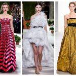 Модные вечерние платья на Новый год 2020, фото
