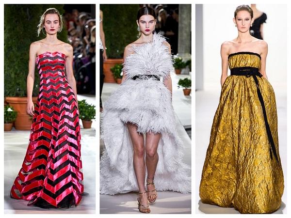 Модные вечерние платья на Новый год 2020