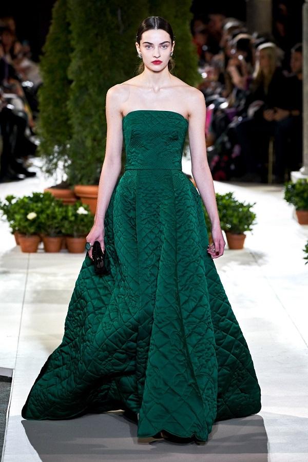 Обзор модной коллекции Oscar de la Renta - осень-зима 2019-2020 (15)