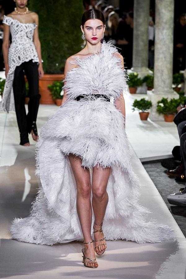 Обзор модной коллекции Oscar de la Renta - осень-зима 2019-2020 (22)