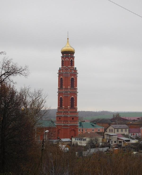 колокольня церкви Великомученика Георгия Победоносца, Болхов, фото